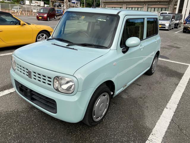 沖縄県那覇市の中古車ならアルトラパン G アイドリングストップ機能搭載 プッシュスタート キーレスエントリー 社外オーディオ