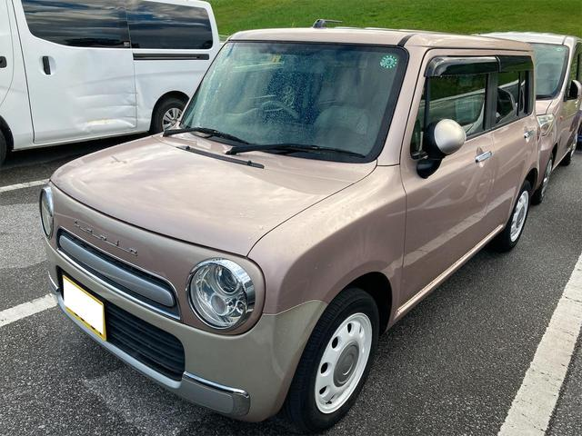 沖縄県の中古車ならアルトラパンショコラ X 純正オーディオ アイドリングストップ機能搭載 純正ショコラシート