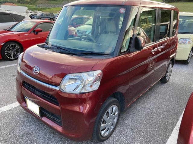 沖縄県那覇市の中古車ならタント L 社外ナビオーディオ キーレス エコアイドルストップ機能搭載 電格ミラー