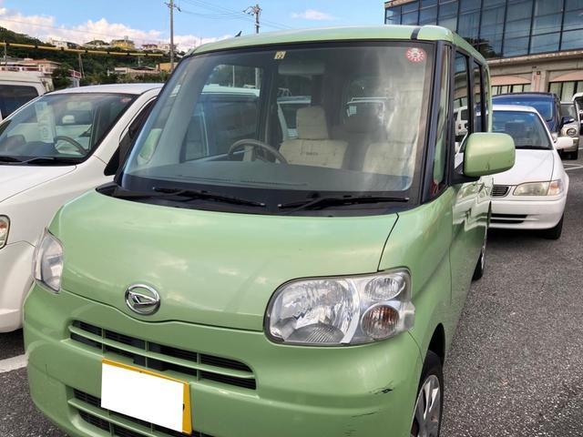 沖縄県中頭郡嘉手納町の中古車ならタント L 純正オーディオCD AUX キーレス