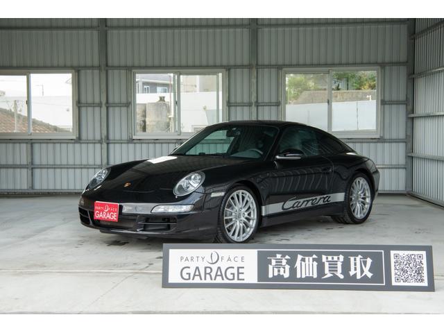 沖縄の中古車 ポルシェ 911 車両価格 479万円 リ済別 2009(平成21)年 4.5万km ブラック