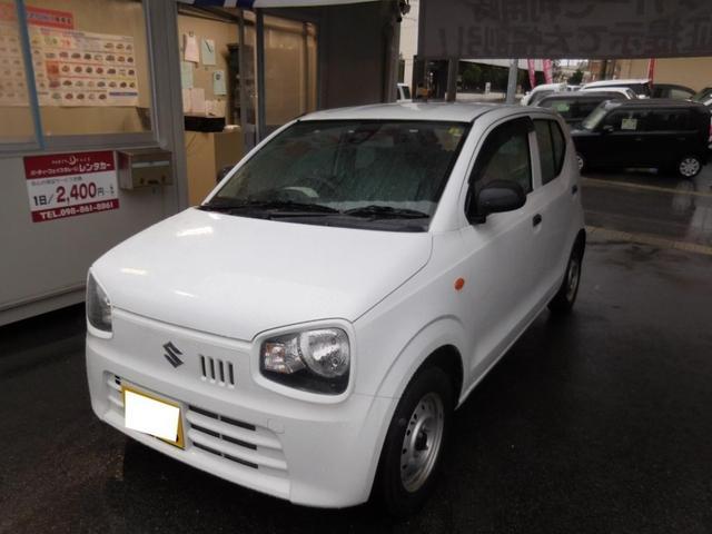 沖縄の中古車 スズキ アルト 車両価格 29万円 リ済別 2015(平成27)年 2.0万km スペリアホワイト