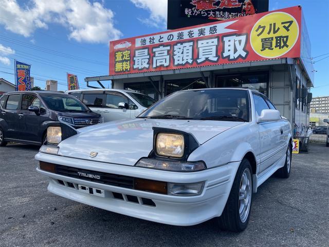 沖縄県の中古車ならスプリンタートレノ GT APEX ユーザー買取車 サンルーフ 15インチAW