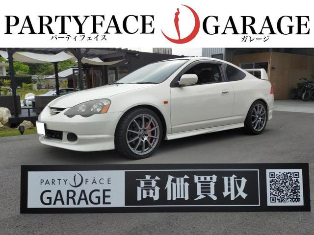 沖縄の中古車 ホンダ インテグラ 車両価格 158万円 リ済別 2001(平成13)年 8.8万km チャンピオンシップホワイト