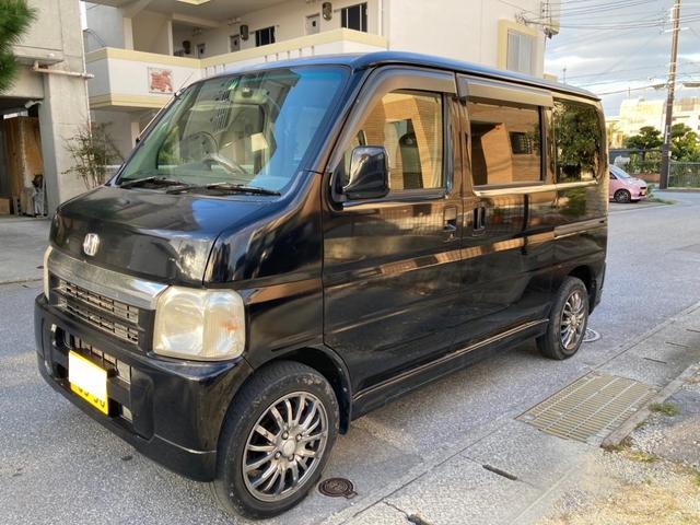 沖縄県の中古車ならバモス ターボ 現状販売車 構造変更 貨物仕様 2名乗り