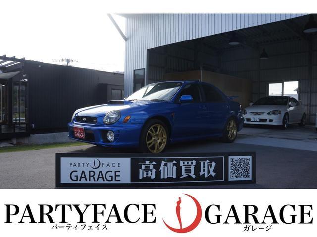 沖縄県那覇市の中古車ならインプレッサ WRX STi マニュアル6速 4WD ターボ車 電格ミラー フロントフォグランプ リアスポイラー