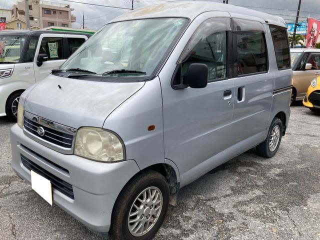 沖縄県浦添市の中古車ならアトレーワゴン ツーリングターボ 現状販売車