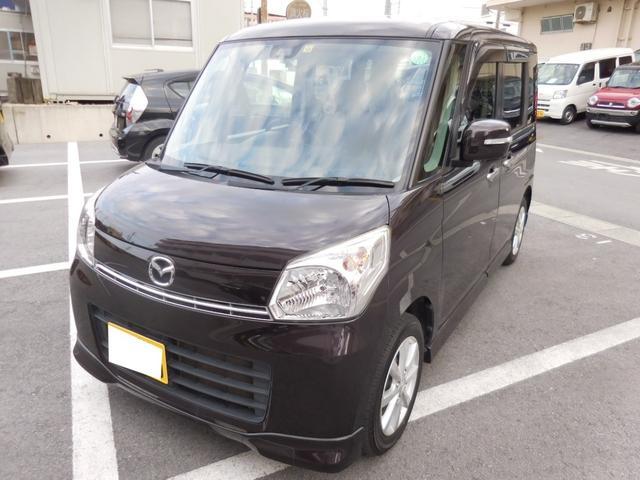 沖縄県の中古車ならフレアワゴン XSリミテッド 両側パワースライドドア スマートキー プッシュスタート 社外ナビ