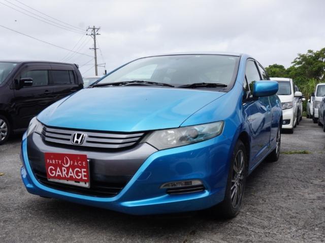 沖縄の中古車 ホンダ インサイト 車両価格 29万円 リ済込 2009(平成21)年 13.2万km ブルー