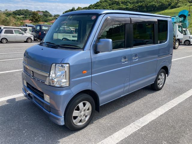 沖縄県の中古車ならエブリイワゴン JPターボ パワースライドドア ETC
