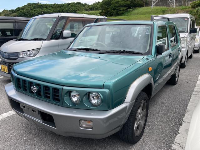 沖縄の中古車 日産 ラシーン 車両価格 35万円 リ済込 1999(平成11)年 9.6万km グリーン