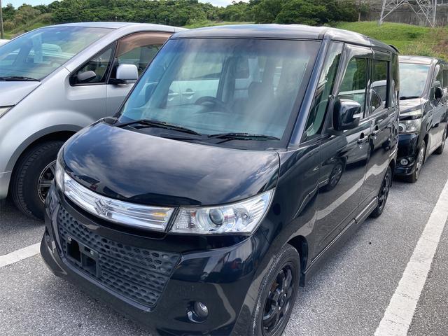 沖縄県の中古車ならパレットSW TS 両側パワースライドドア HDDナビ フルセグTV バックカメラ