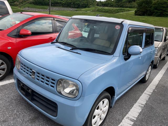 沖縄県の中古車ならアルトラパン X 純正オーディオ 純正14インチアルミホイール スマートキープッシュスタート スペアキー有