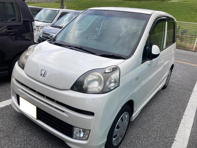 沖縄の中古車 ホンダ ライフ 車両価格 25万円 リ済込 2010(平成22)年 9.5万km ホワイト