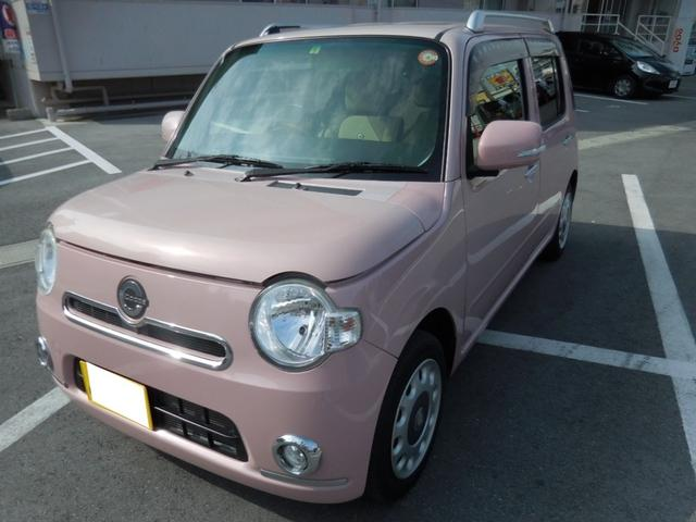 沖縄県の中古車ならミラココア ココアプラスX 走行1万キロ台 スマートキー ドアバイザー フォグランプ