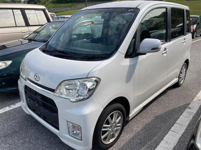 沖縄県の中古車ならタントエグゼ カスタムX 社外HDDナビ スマートキー フルセグTV HIDヘッドライト 純正アルミホイール ETC Bluetooth対応ナビ