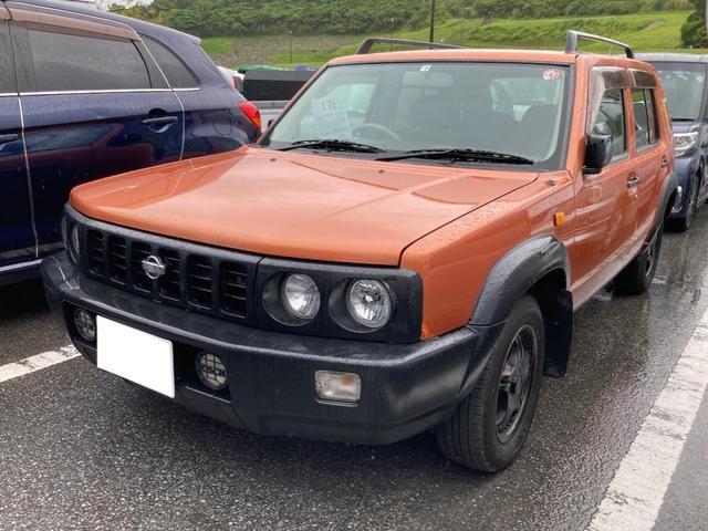 沖縄の中古車 日産 ラシーン 車両価格 25万円 リ済込 2000(平成12)年 15.6万km オレンジ