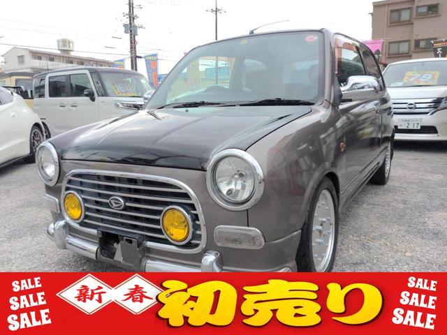 沖縄県那覇市の中古車ならミラジーノ ジーノS マニュアル5速 ターボ車