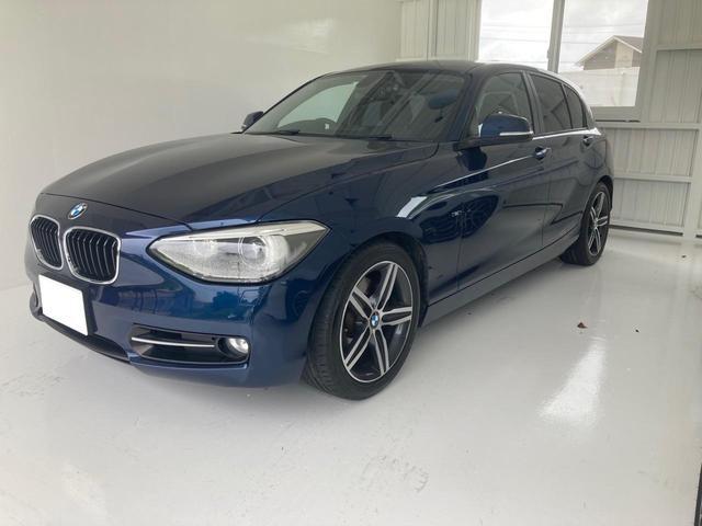 沖縄の中古車 BMW 1シリーズ 車両価格 69万円 リ済込 2012(平成24)年 6.6万km ブルー