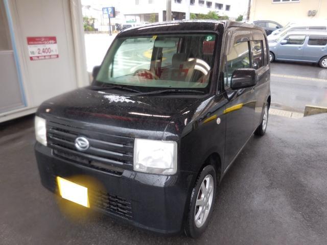 沖縄の中古車 ダイハツ ムーヴコンテ 車両価格 25万円 リ済別 2008(平成20)年 9.8万km ブラック