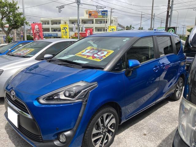 トヨタ G ユーザー買取 ワンオーナー車 7人乗り Bluetooth対応TVナビ 衝突軽減サポート プッシュスタート 両側パワースライドドア