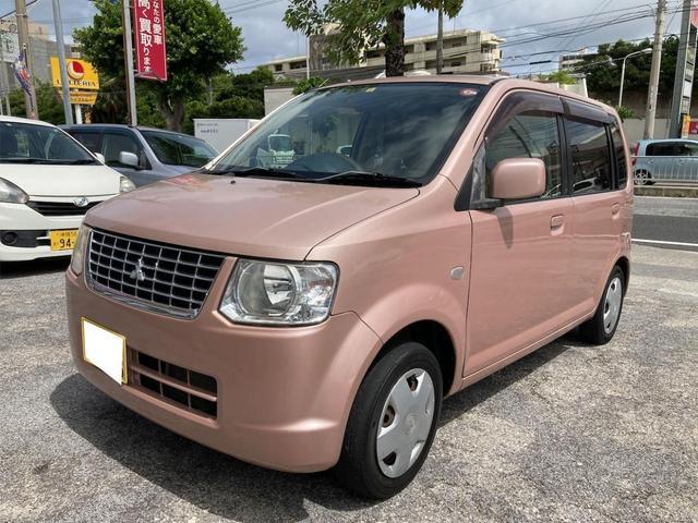 沖縄県那覇市の中古車ならeKワゴン MX アウトレット現状販売 レンタカーアップ車両 社外ナビ