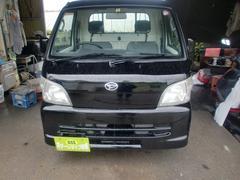 沖縄の中古車 ダイハツ ハイゼットトラック 車両価格 34万円 リ済込 平成17年 14.1万K ブラック