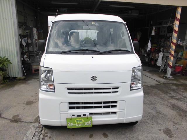 沖縄の中古車 スズキ エブリイ 車両価格 31万円 リ済込 平成24年 13.8万km ホワイト