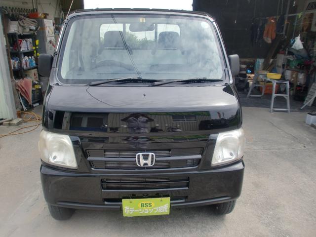 沖縄の中古車 ホンダ アクティトラック 車両価格 27万円 リ済込 2004(平成16)年 12.1万km ブラック