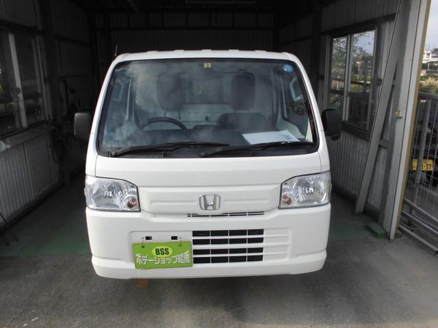 沖縄の中古車 ホンダ アクティトラック 車両価格 36万円 リ済込 2012(平成24)年 18.7万km ホワイト