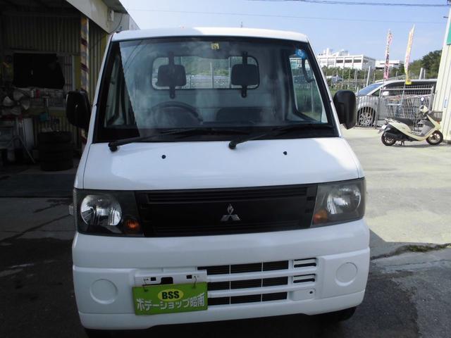沖縄の中古車 三菱 ミニキャブトラック 車両価格 35万円 リ済込 2008(平成20)年 12.4万km ホワイト