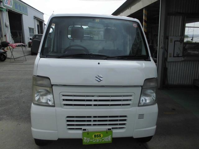 沖縄の中古車 スズキ キャリイトラック 車両価格 31万円 リ済込 2012(平成24)年 16.4万km ホワイト
