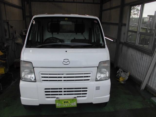 沖縄の中古車 マツダ スクラムトラック 車両価格 36万円 リ済込 2012(平成24)年 14.9万km ホワイト
