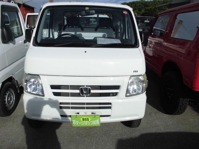 沖縄の中古車 ホンダ アクティトラック 車両価格 38万円 リ済込 2009(平成21)年 16.0万km ホワイト
