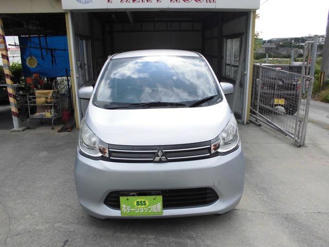 沖縄の中古車 三菱 eKワゴン 車両価格 33万円 リ済込 2013(平成25)年 10.6万km シルバー