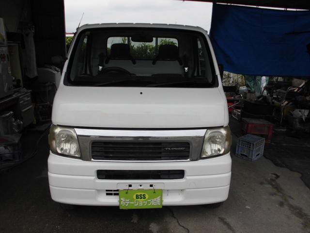 沖縄の中古車 ホンダ アクティトラック 車両価格 34万円 リ済込 2002(平成14)年 13.2万km ホワイト