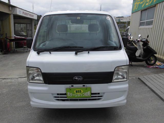沖縄の中古車 スバル サンバートラック 車両価格 35万円 リ済込 2007(平成19)年 14.0万km ホワイト
