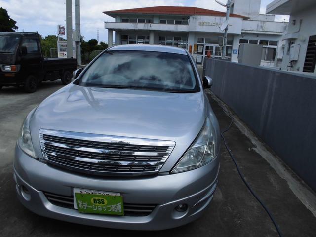 沖縄の中古車 日産 ティアナ 車両価格 36万円 リ済込 2008(平成20)年 8.4万km シルバー