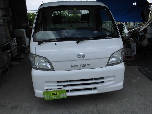 沖縄の中古車 ダイハツ ハイゼットトラック 車両価格 33万円 リ済込 2009(平成21)年 14.5万km ホワイト