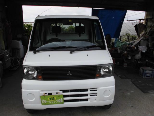 沖縄の中古車 三菱 ミニキャブトラック 車両価格 25万円 リ済込 2005(平成17)年 9.5万km ホワイト