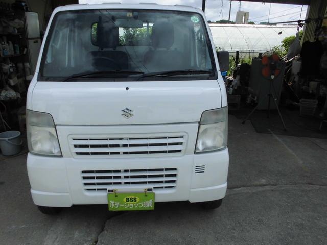 沖縄の中古車 スズキ キャリイトラック 車両価格 37万円 リ済込 2012(平成24)年 14.2万km ホワイト