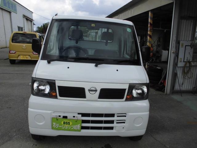 沖縄の中古車 日産 クリッパートラック 車両価格 34万円 リ済込 2009(平成21)年 12.7万km ホワイト