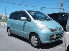 沖縄の中古車 日産 モコ 車両価格 19万円 リ済込 平成17年 9.0万K グリーンM