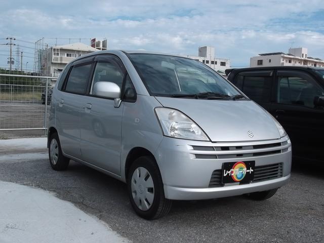 沖縄の中古車 スズキ MRワゴン 車両価格 22万円 リ済込 2005(平成17)年 7.9万km シルバーM