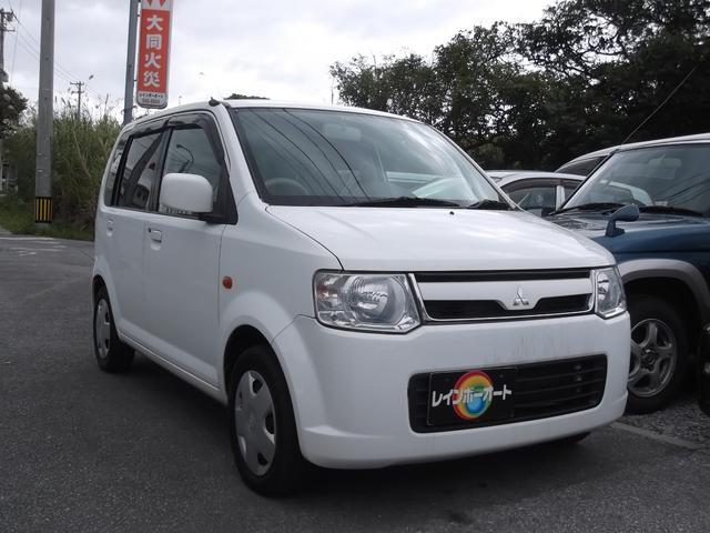 沖縄の中古車 三菱 eKワゴン 車両価格 23万円 リ済込 平成20年 12.3万km ホワイト