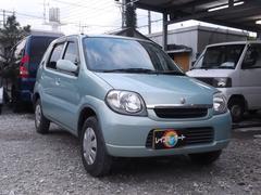 沖縄の中古車 スズキ Kei 車両価格 11万円 リ済込 平成17年 10.9万K Lグリーン