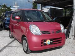 沖縄の中古車 日産 モコ 車両価格 18万円 リ済込 平成18年 12.7万K ピンク