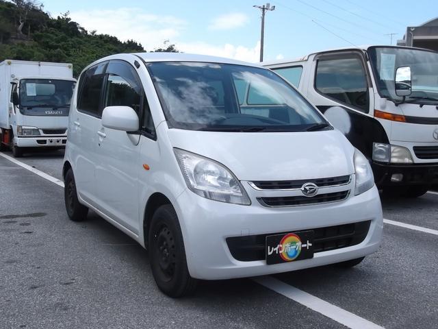 沖縄の中古車 ダイハツ ムーヴ 車両価格 18.8万円 リ済込 2007(平成19)年 7.4万km ホワイト