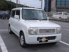 沖縄の中古車 スズキ アルトラパン 車両価格 19万円 リ済込 平成15年 8.8万K ホワイト