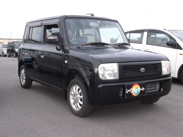 沖縄の中古車 スズキ アルトラパン 車両価格 21万円 リ済込 2005(平成17)年 8.6万km ブラック